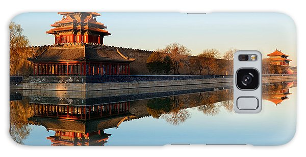 Travel Destinations Galaxy Case - Imperial Palace Over Lake In The by Songquan Deng