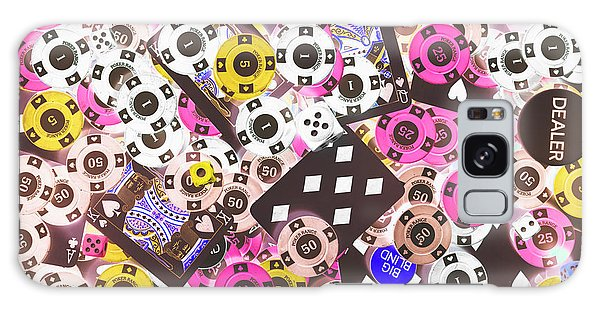 Table Galaxy Case - In Casino Colors by Jorgo Photography - Wall Art Gallery