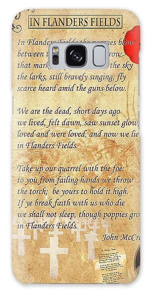 In Flanders Fields Galaxy Case