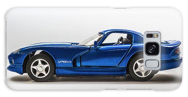 Sports Car Galaxy Case - In Race Blue by Jorgo Photography - Wall Art Gallery