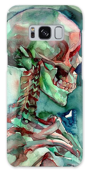 Skull Galaxy Case - In Reverie by Suzann Sines