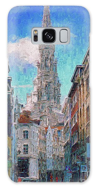 In-spired  Street Scene Brussels Galaxy Case