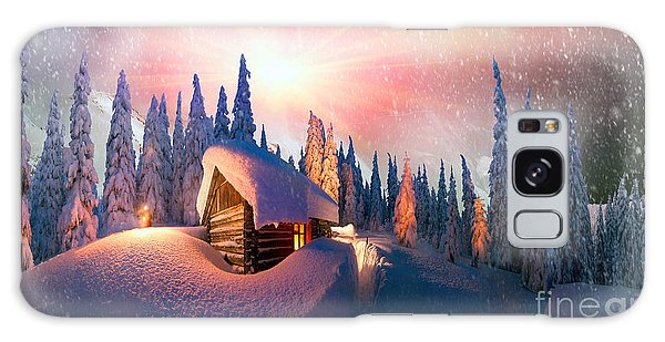 Cottage Galaxy Case - In The High Mountains, Among The Wild by Roman Mikhailiuk