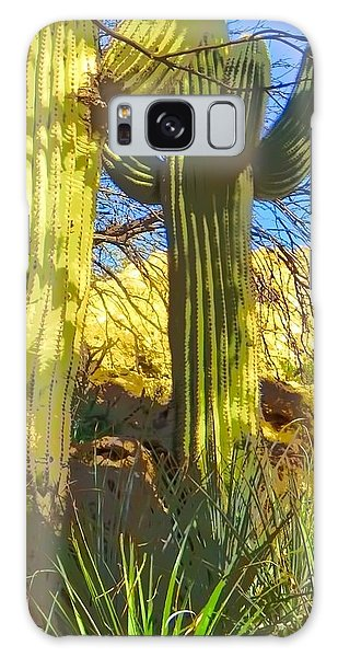 In The Shadow Of Saguaros Galaxy Case