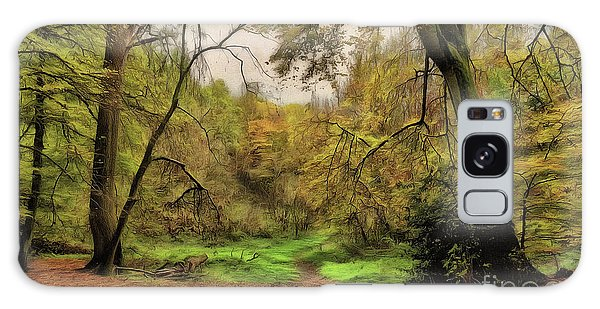 Galaxy Case featuring the photograph In The Woods by Leigh Kemp