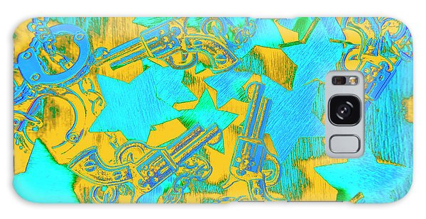 Guns Galaxy Case - In Wild West Patterns by Jorgo Photography - Wall Art Gallery