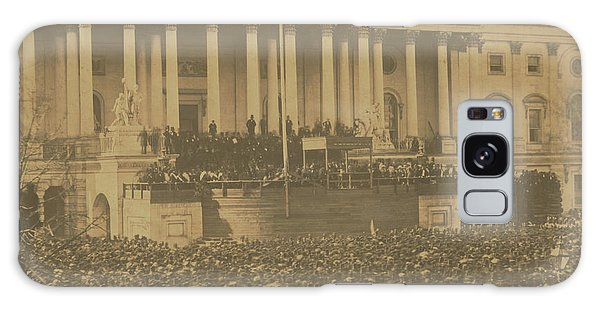 Inauguration Of Abraham Lincoln, March 4, 1861 Galaxy Case