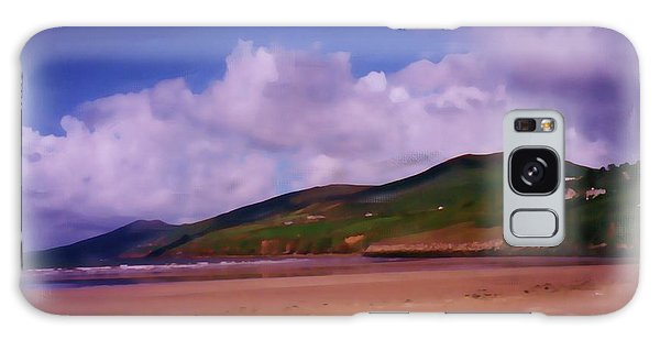 Inch Beach Painting Galaxy Case