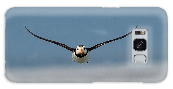 Incoming Puffin Galaxy Case