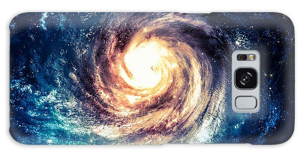 Glow Galaxy Case - Incredibly Beautiful Spiral Galaxy by Vadim Sadovski