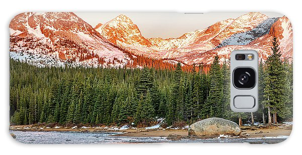 Indian Peaks Wilderness Galaxy Case - Indian Peaks Sunrise by Eric Glaser