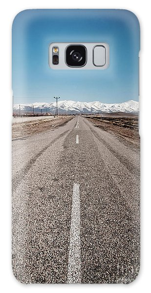 infinit road in Turkish landscapes Galaxy Case