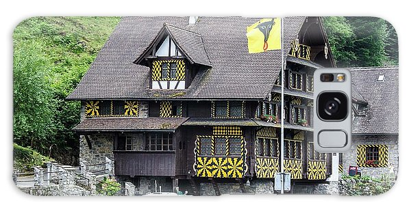 Inn On Lake Lucerne Galaxy Case