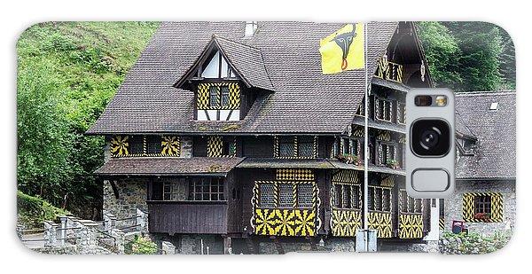 Inn On Lake Lucerne Galaxy Case