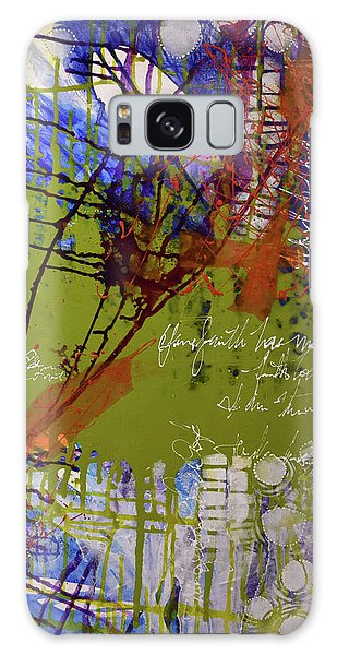 Galaxy Case featuring the mixed media Inner Faith by Kate Word