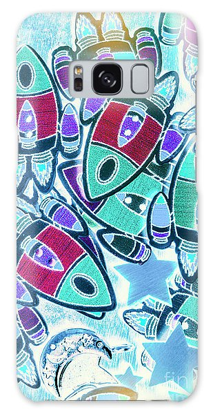 Cartoon Galaxy Case - Intergalactic Abstract by Jorgo Photography - Wall Art Gallery
