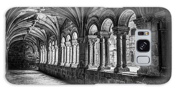 Interior Corridors Of The Monastery Of Santo Estevo De Ribas Del Sil Galaxy Case