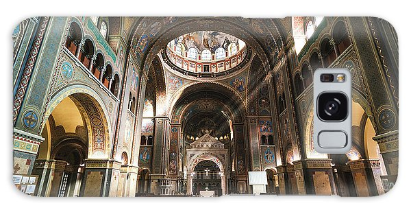 Interior Of The Votive Cathedral, Szeged, Hungary Galaxy Case