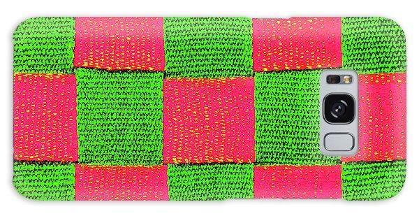 Interlaced Canvas Straps 2 Galaxy Case