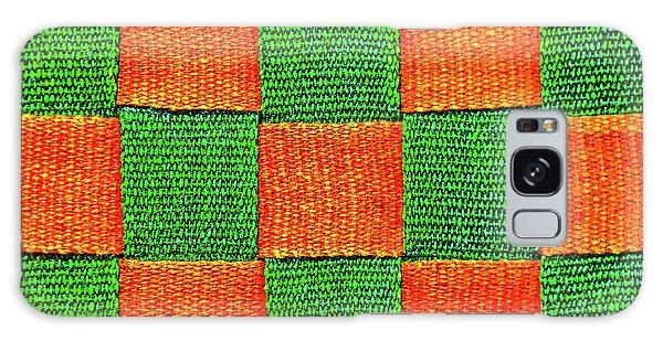 Interlaced Canvas Straps 3 Galaxy Case