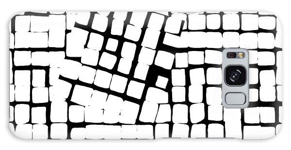 Galaxy Case featuring the digital art Internal Square by Attila Meszlenyi
