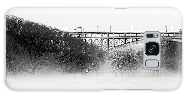 Galaxy Case featuring the photograph Inwood Hill With Fog by Cole Thompson