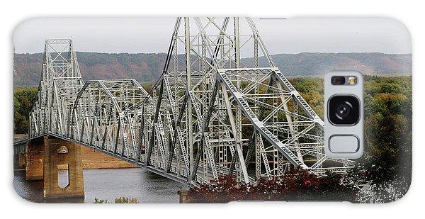 Iowa - Mississippi River Bridge Galaxy Case