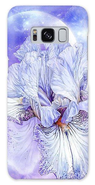 Galaxy Case featuring the mixed media Iris - Goddess Of Dreams by Carol Cavalaris