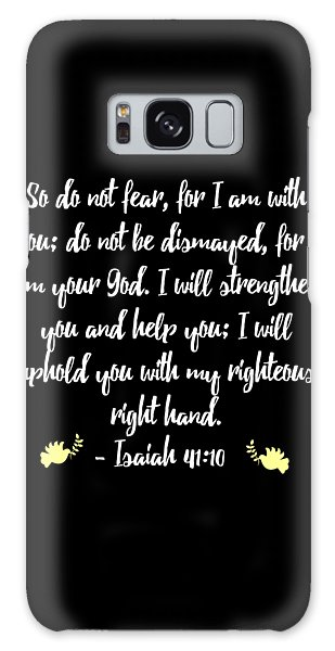 Isaiah 4110 Bible Galaxy Case