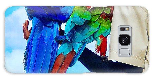 Island Birds  Galaxy Case