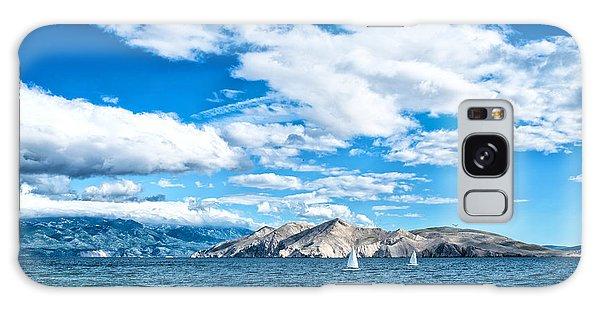 Scenery Galaxy Case - Island Seaside Or Ocean Landscape by Bogdanhoda