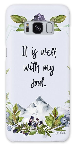It Is Well With My Soul - Kindness Galaxy Case