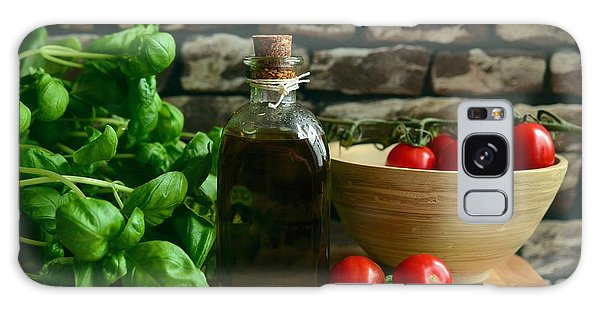 Italian Ingredients Galaxy Case