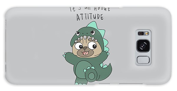 It's All About Attitude - Baby Room Nursery Art Poster Print Galaxy Case