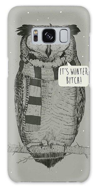 Scarf Galaxy Case - It's Winter Bitch by Balazs Solti