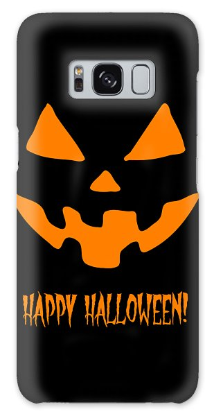 Jackolantern Happy Halloween Pumpkin Galaxy Case