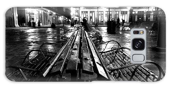 Jackson Square In The Rain Galaxy Case