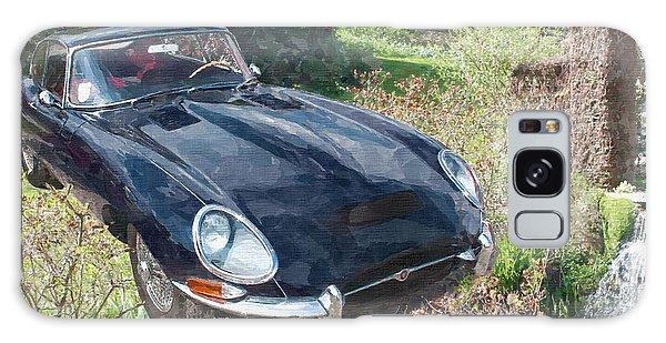 Jaguar E Type Galaxy Case
