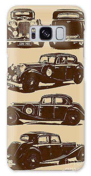 Vintage Cars Galaxy Case - Jaguar Mark Iv Ss 2.5 Saloon by Jorgo Photography - Wall Art Gallery