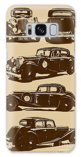 Old Car Galaxy Case - Jaguar Mark Iv Ss 2.5 Saloon by Jorgo Photography - Wall Art Gallery