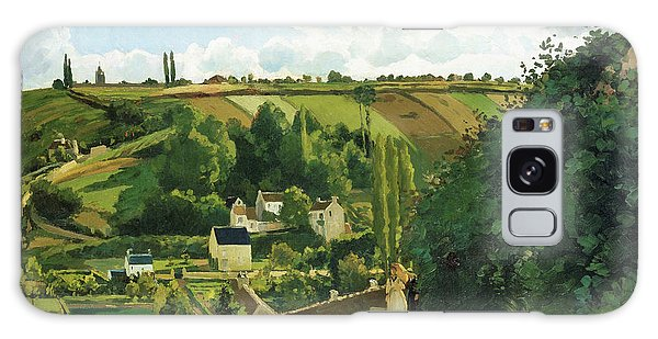 Country Living Galaxy Case - Jalais Hill, Pontoise - Digital Remastered Edition by Camille Pissarro