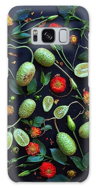 Jamaican Burr Cucumbers Galaxy Case