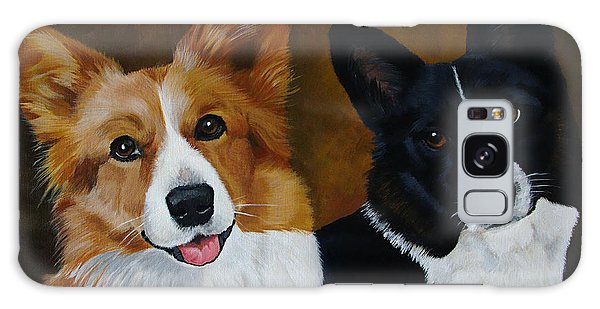 James And Joy Custom Portrait Painting Galaxy Case