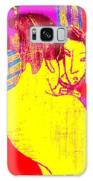 Japanese Pop Art Print 1 Galaxy Case