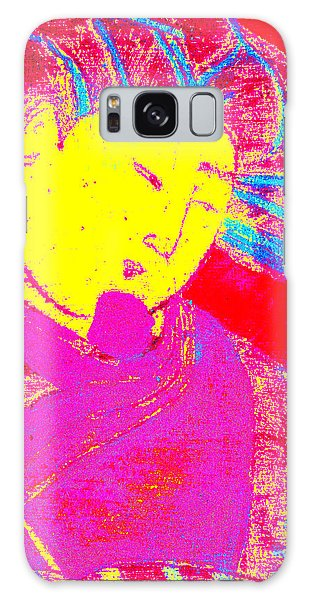 Japanese Pop Art Print 9 Galaxy Case