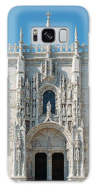 Jeronimos Monastery, Portugal Galaxy Case
