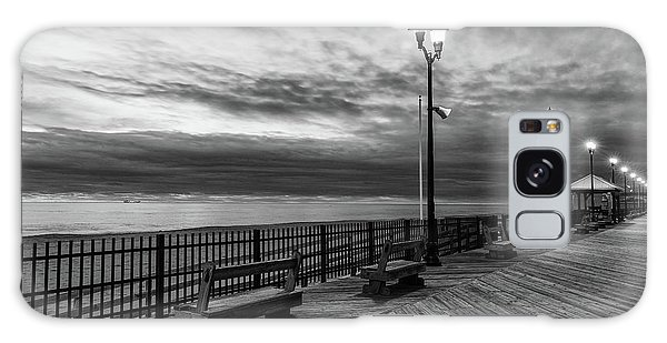 Jersey Shore In Winter Galaxy Case