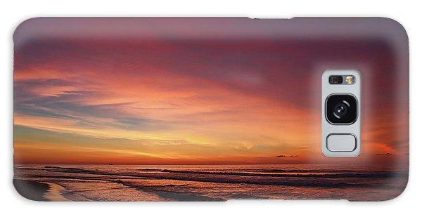 Jersey Shore Sunrise Galaxy Case