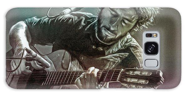 Folk Singer Galaxy Case - Jose Gonzalez by Mal Bray