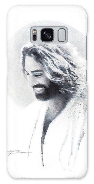 Savior Galaxy Case - Joy Of The Lord Vignette by Greg Olsen